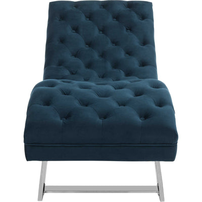 Morph Chaise With Headrest Pillow Navy