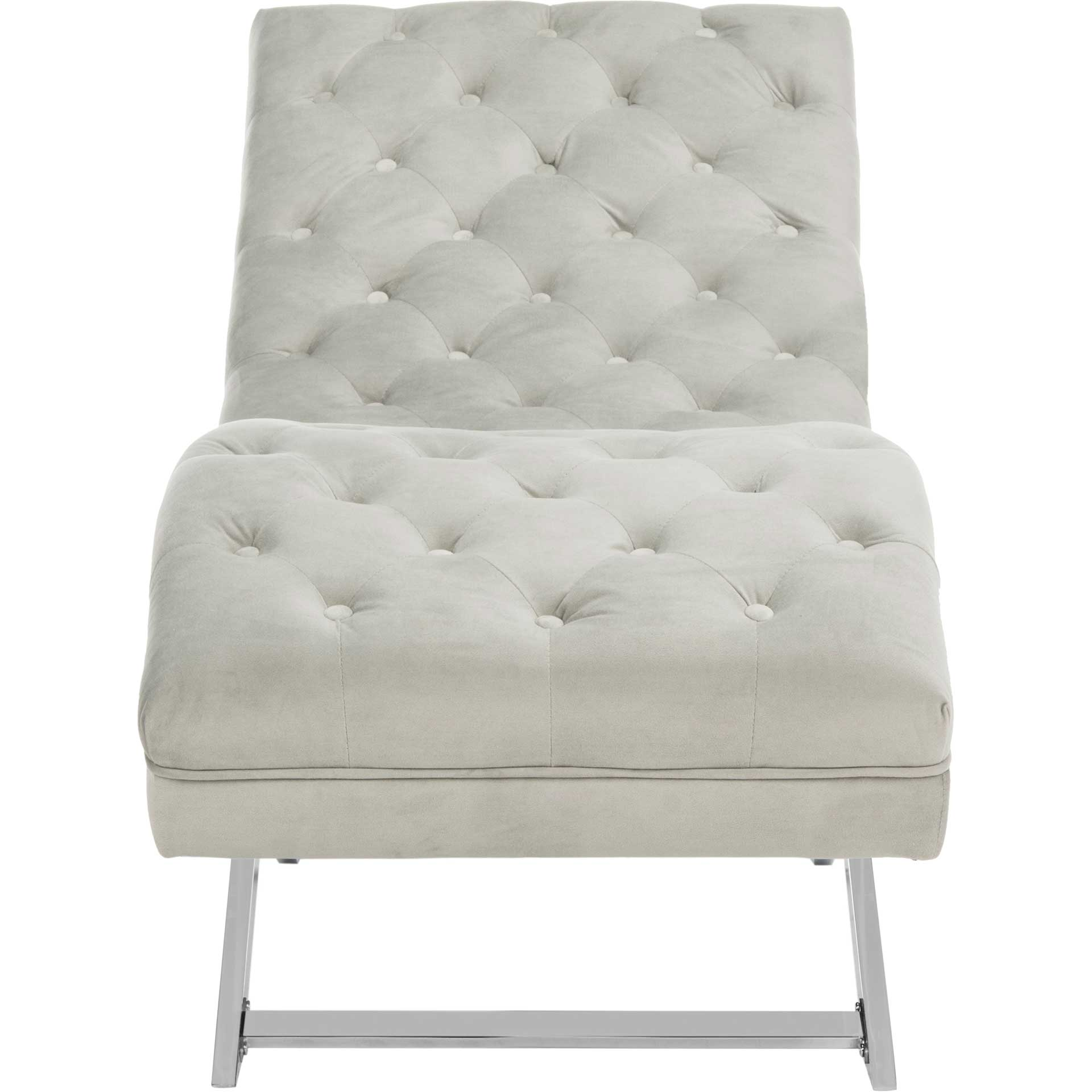 Morph Chaise With Headrest Pillow Gray