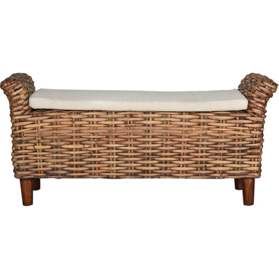 Panache Bench Brown/Eggshell