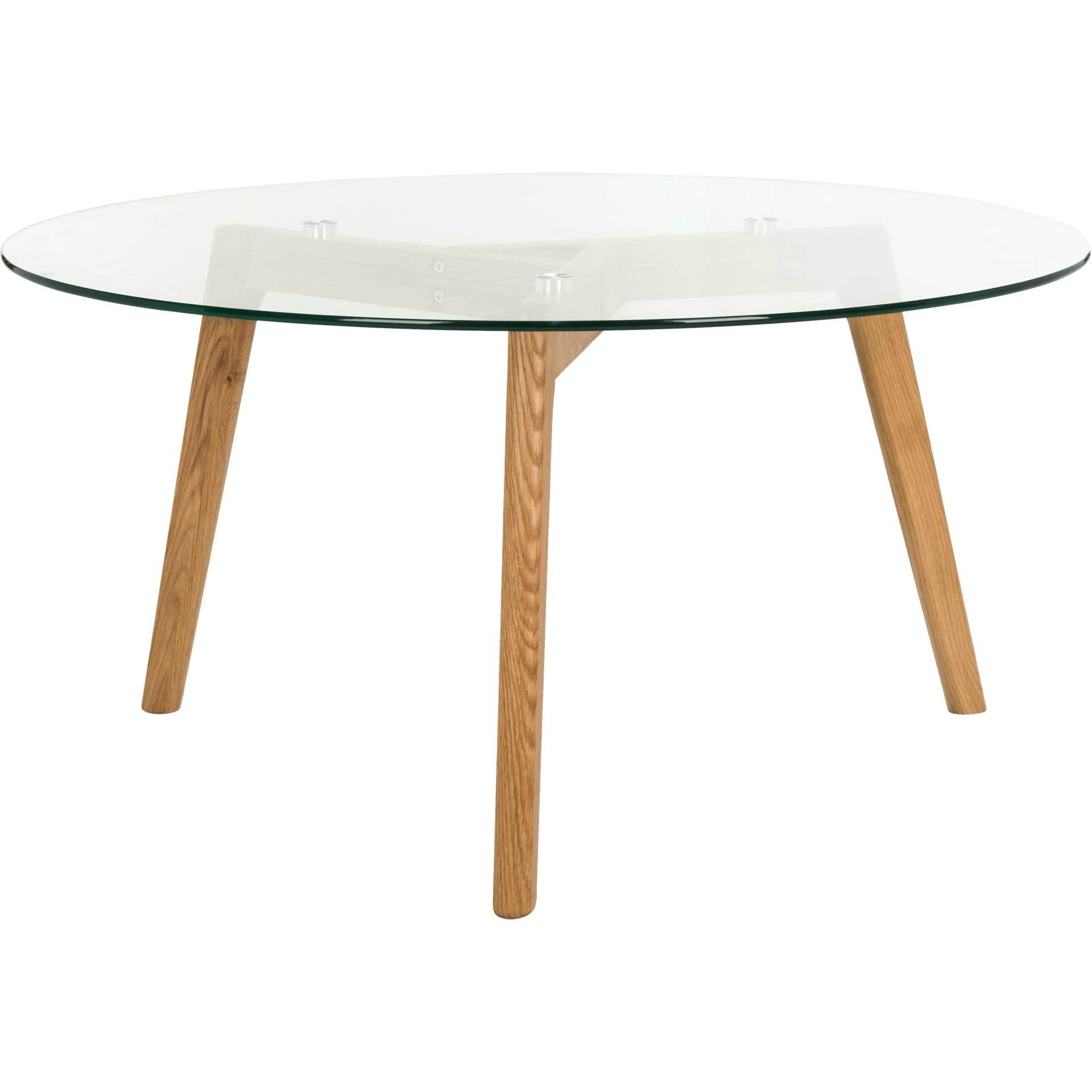 Martin Round Glass Coffee Table
