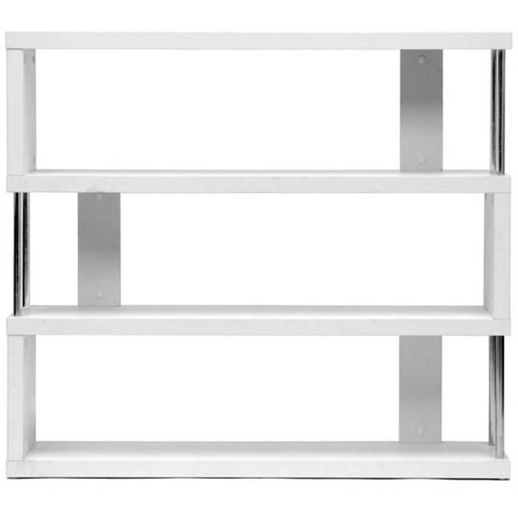 Zhao Bookcase White 3 Tier
