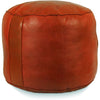 Tabouret Fez Pouf Dark Orange