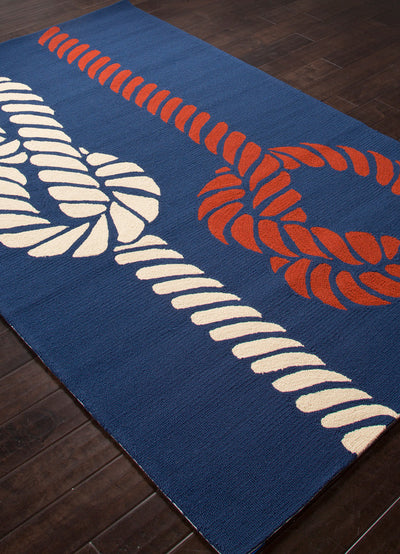 Grant Knotty Navy/Blue Area Rug