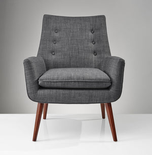 Adrian Chair Charcoal Gray Froy Com