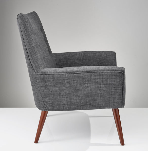 Adrian Chair Charcoal Gray