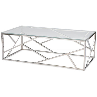 Fay Coffee Table Silver