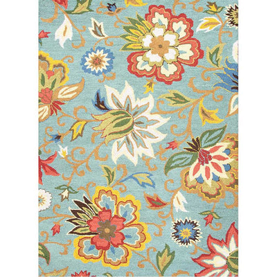 Hacienda Zamora Light Turquoise Area Rug