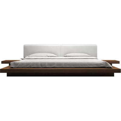 Worth Bed Walnut/White