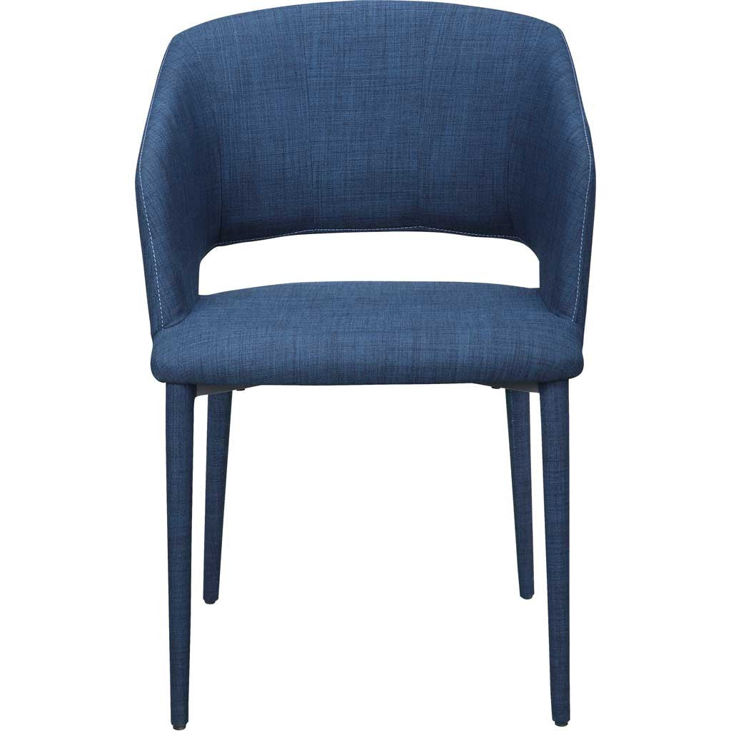 Wilkes Dining Chair Navy Blue