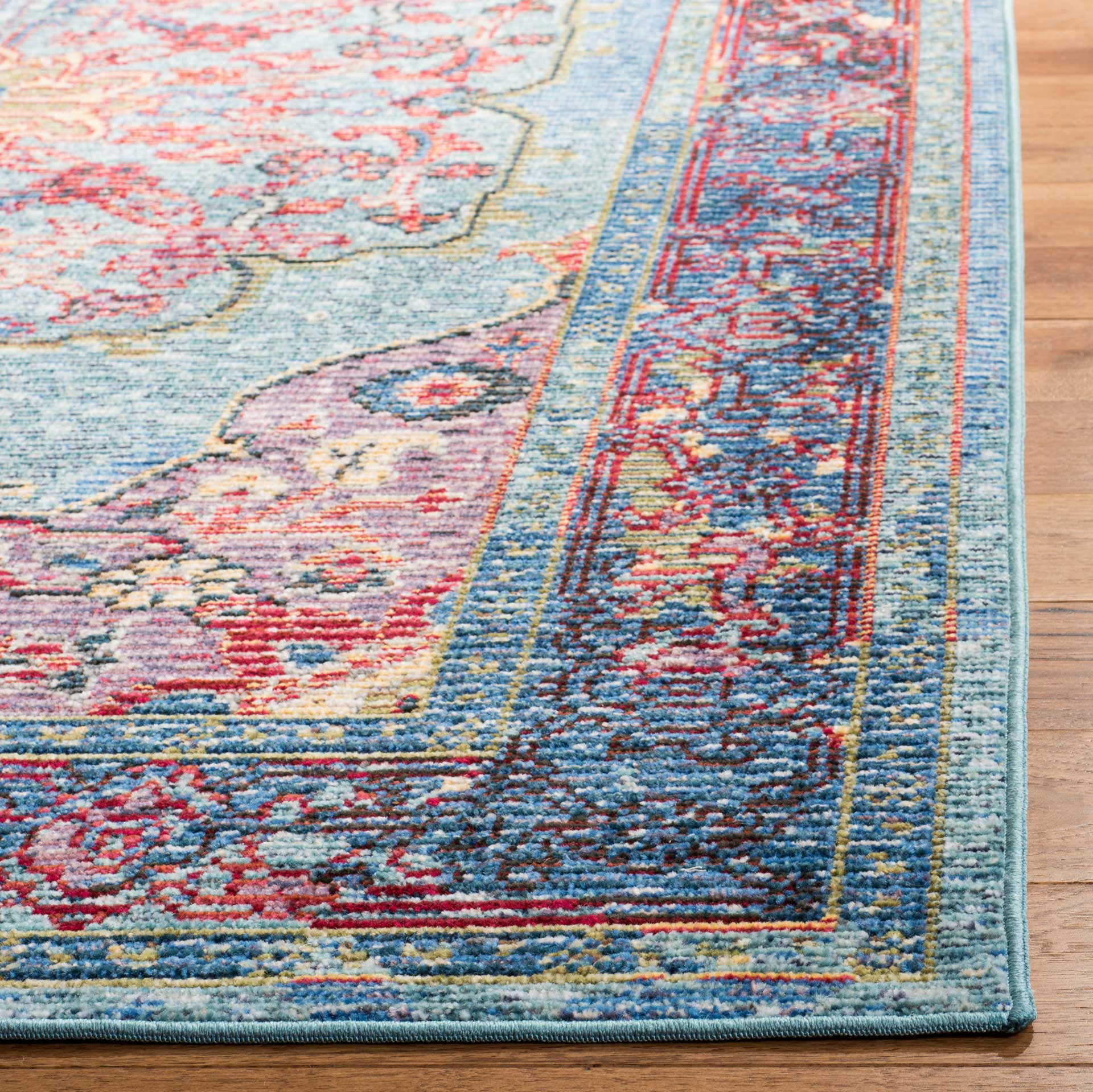 Picture of: Harmony Blue Purple Area Rug Froy Com