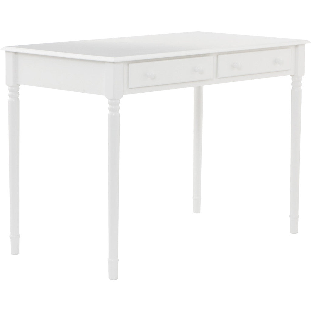 Writers 2-Drawer Desk White