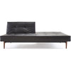 Stockholm Sofa Black Leather