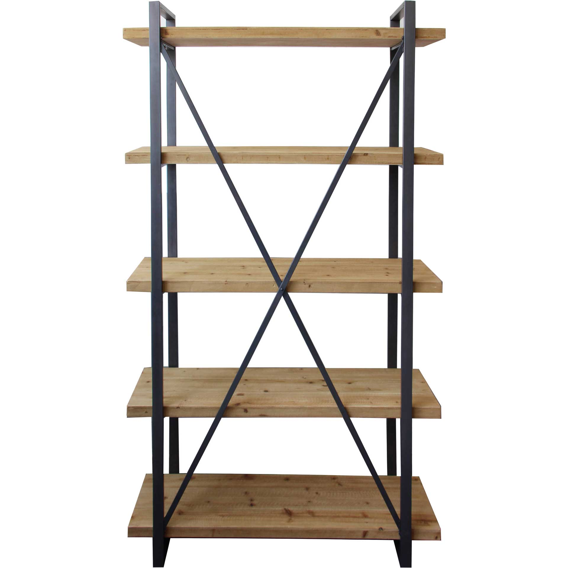 Lear 5-Level Shelf Natural