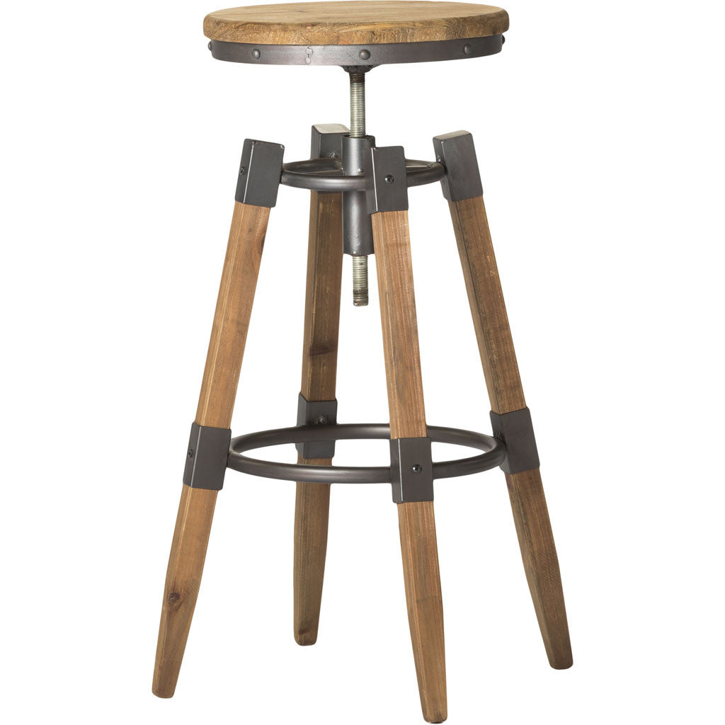 Quincey Adjustable Stool Natural