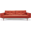 Stockholm Arm Sofa Burnt Orange