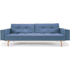 Stockholm Arm Sofa Light Blue