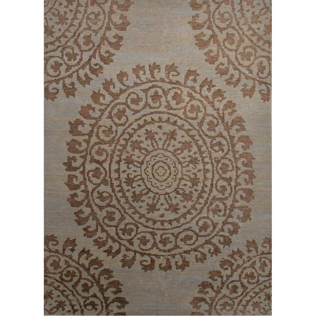 Timeless Dahlia Gleam/Pelican Area Rug