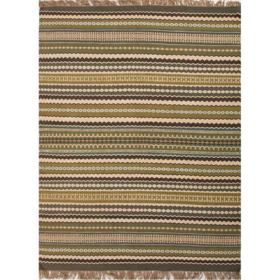 Java Madura Green/Gray Area Rug