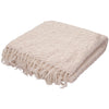 Kinley Kin-01 Ivory/White Throw