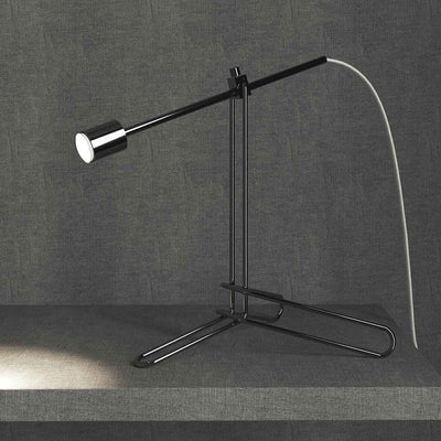 Balfour Table Lamp Black Chrome
