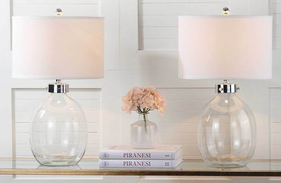 Nelson Clear Glass Table Lamp (Set of 2)