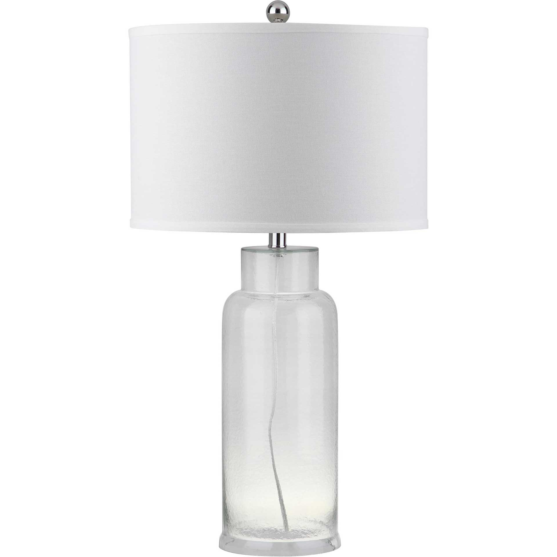 Bottle Glass Table Lamp Clear (Set of 2)