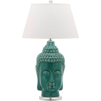 Sean Buddha Table Lamp Blue (Set of 2)