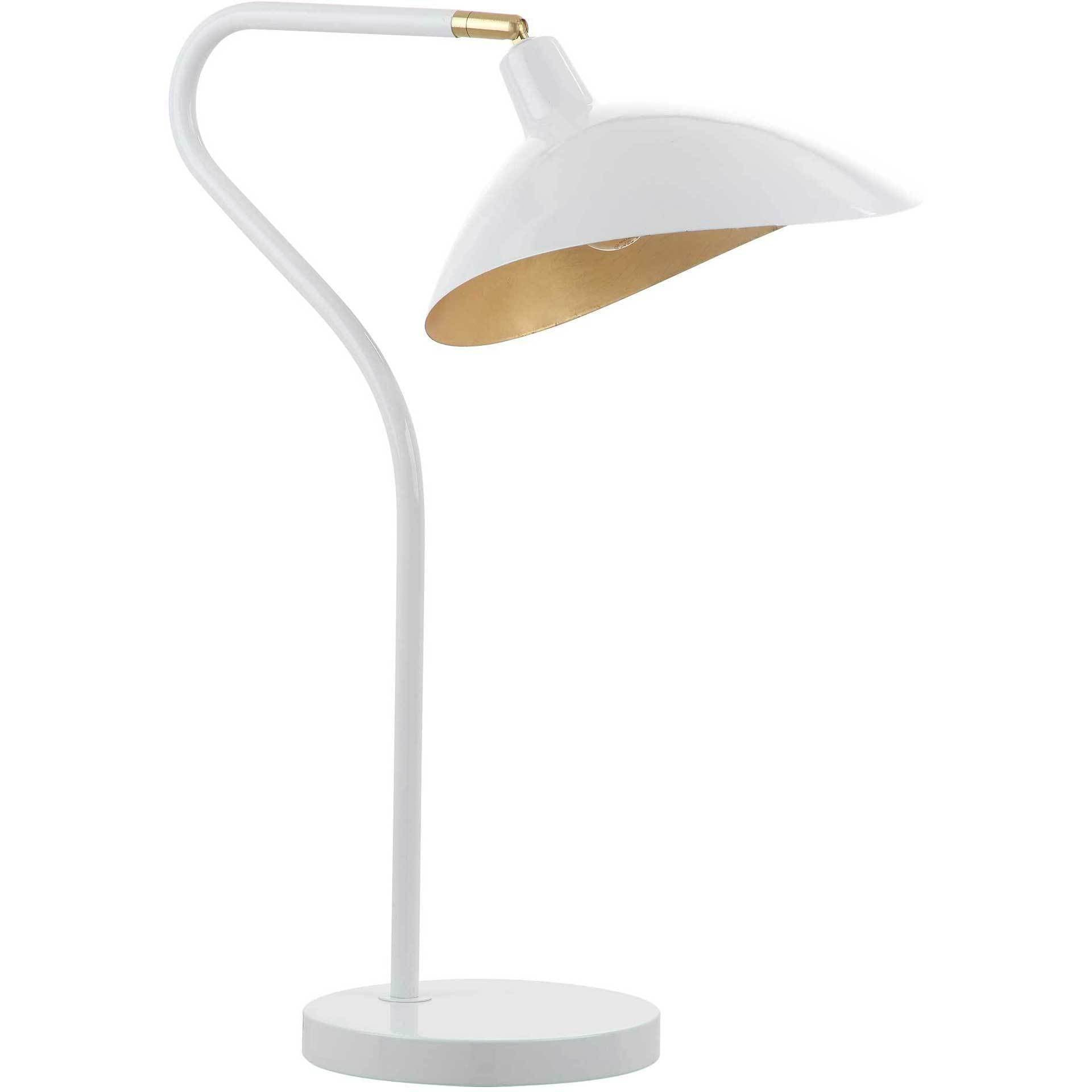 Giovanna Adjustable Table Lamp White