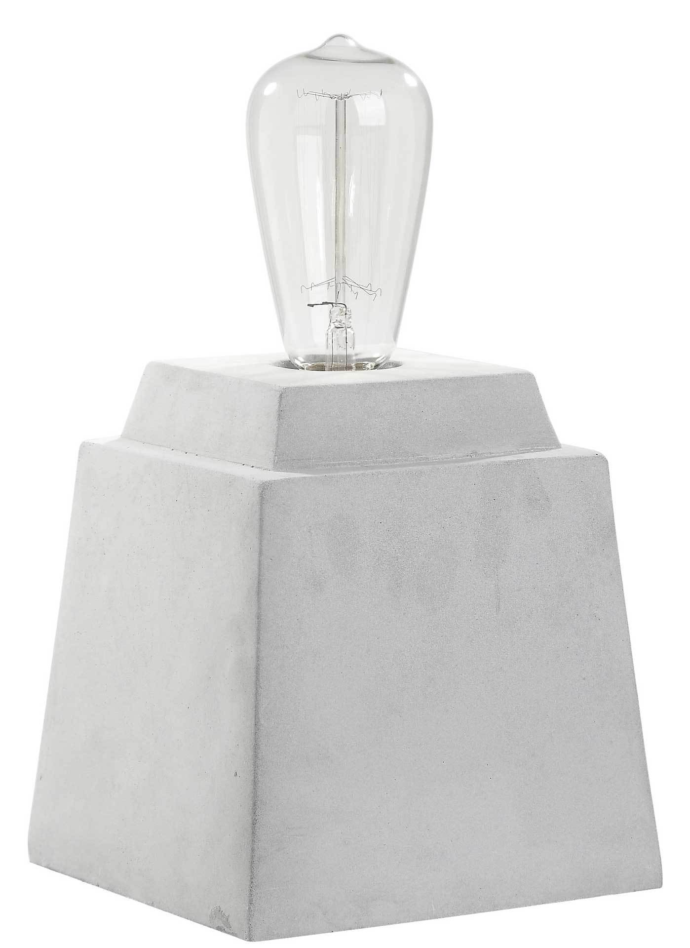 Ophelia Concrete Table Lamp Gray (Set of 2)