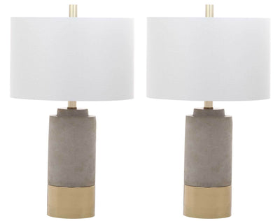 Bree Table Lamp Gray (Set of 2)