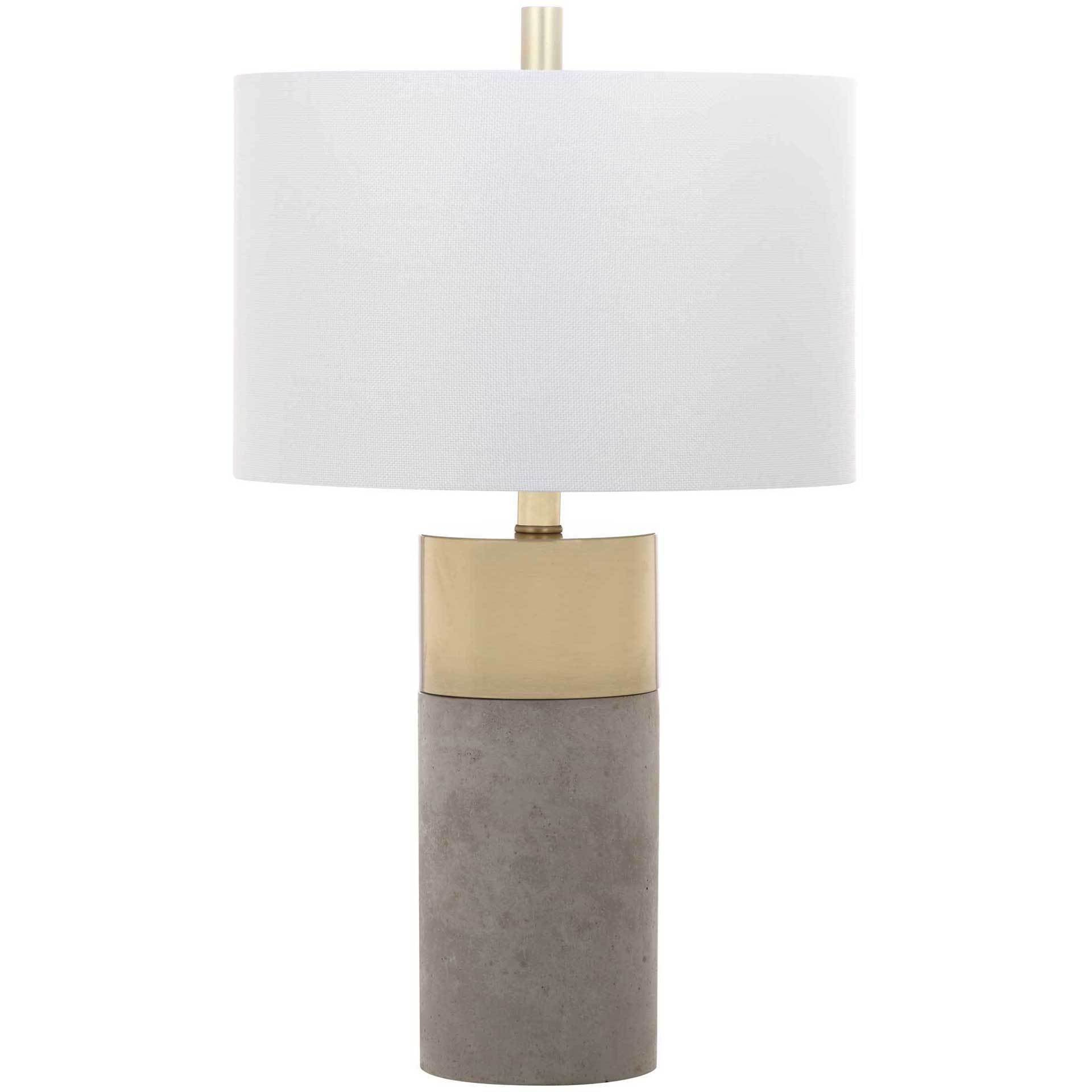 Olivia Table Lamp Gray (Set of 2)