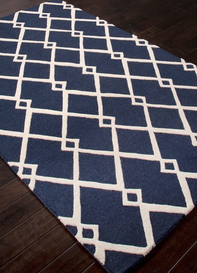 Lounge Maysoon Blue/Ivory Area Rug