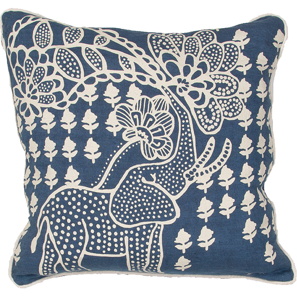 En Casa Encasa01 Blue Pillow
