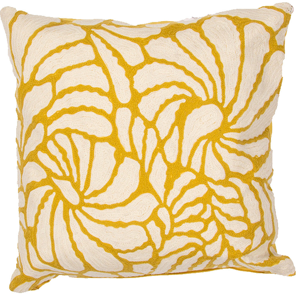 En Casa Encasa03 Cream/Yellow Pillow