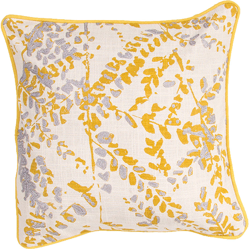 En Casa Encasa07 Natural/Yellow Pillow