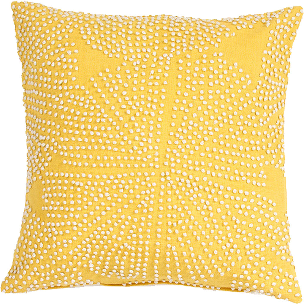 En Casa Encasa09 Yellow Pillow