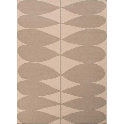 En Casa Petals Antique White/Silver Gray Area Rug