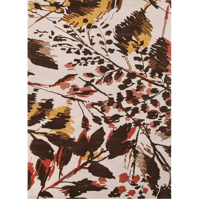 En Casa Wild Flowers Antique White/Deep Blue Area Rug