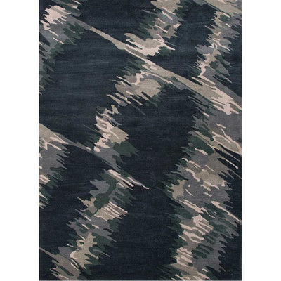 En Casa Waves Indigo/Antique White Area Rug