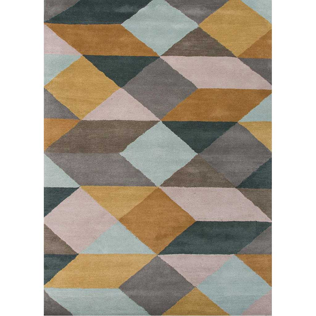 En Casa Ojo Sea Mist Green/Classic Gray Area Rug