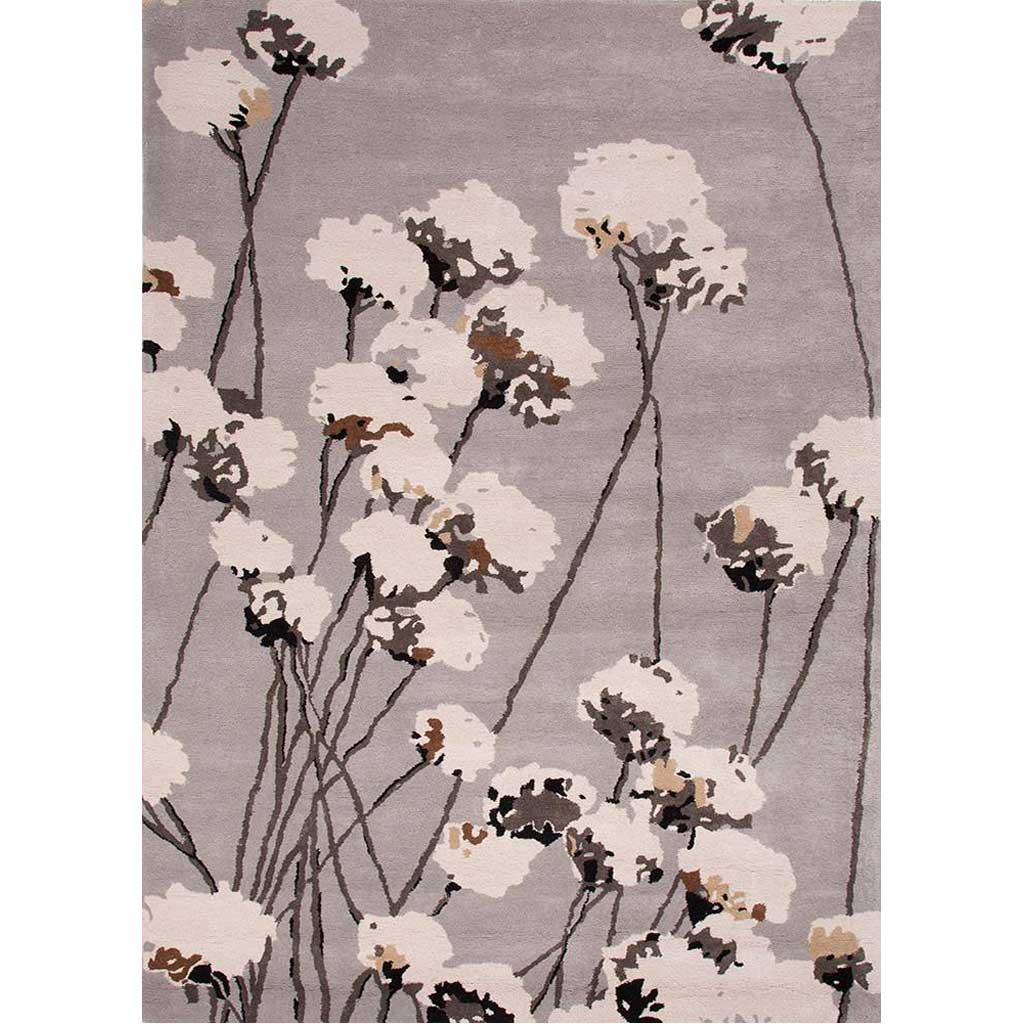 En Casa Cotton Blossom Nickel Area Rug