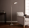 Author Floor Lamp Brushed Nickel