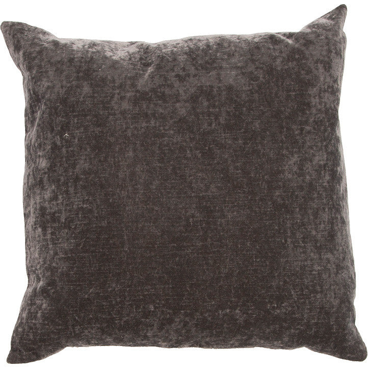 Luxe Charcoal Pillow
