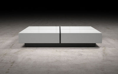 Dean Coffee Table White Lacquer