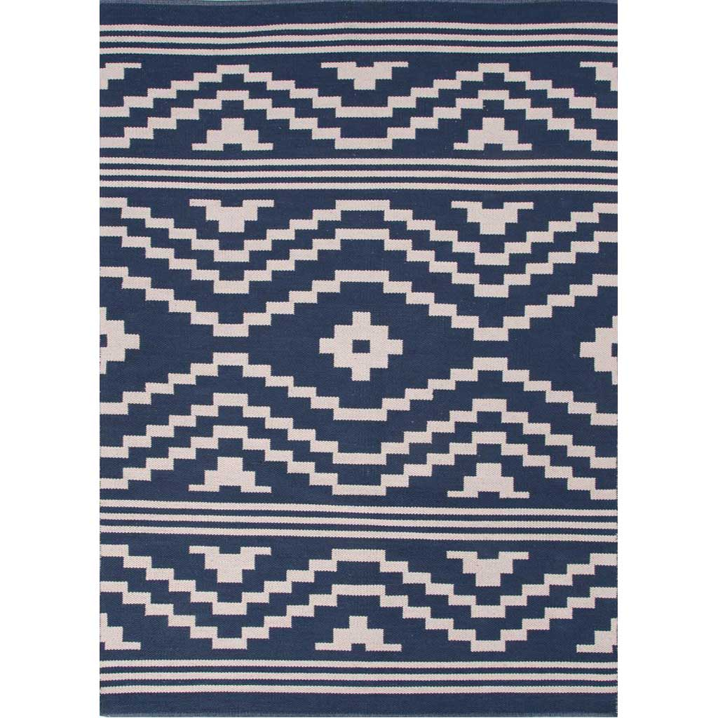 Traditions Patagonia Dark Denim/Silver Green Area Rug