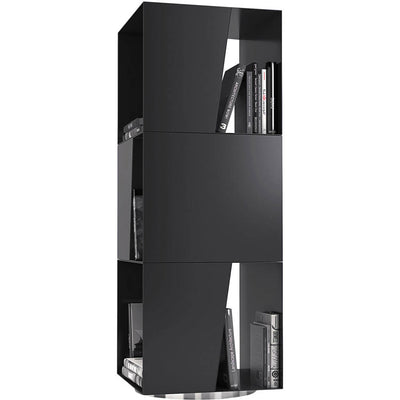 Bond Bookcase Black Powdercoat