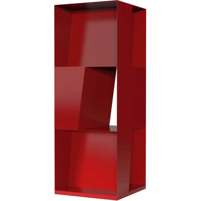 Bond Bookcase Chili Pepper Powdercoat
