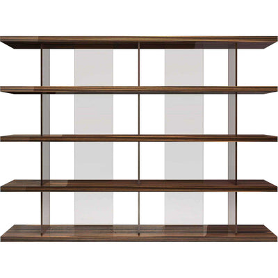 Beekman Bookcase Cathedral Ebony Lacquer