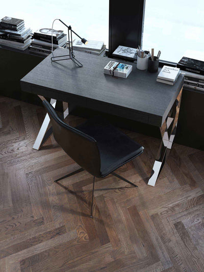 Houston Desk Gray Oak