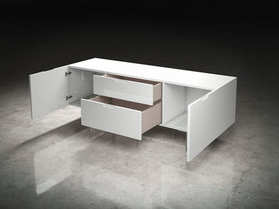 Eldridge Media Cabinet White